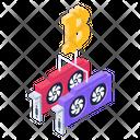 Blockchain Blockchain Gpu Bitcoin Gpu Icon