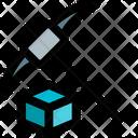 Blockchain Mining Icon