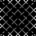 Blockchain Network Icon