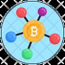 Bitcoin Nodes Bitcoin Network Money Network Icon