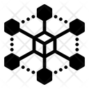 Bitcoin Network Blockchain Nodes Btc Network Icon