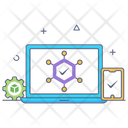 Blockchain Nodes Icon