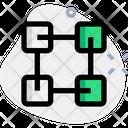 Blockchain Peer To Peer Icon
