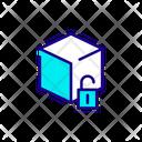 Blockchain Secure Lock Security Icon