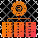 Blockchain Servers Cryptocurrency Icon