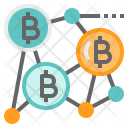 Blockchain Technology Network Icon