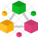 Blockchain Technology Blockchain Network Icon