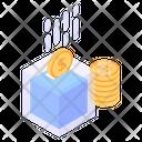 Bitcoin Tech Btc Technology Blockchain Technology Icon