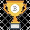 Blockchain Trophy Winning Cup Winner Cup Icon