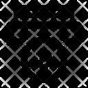 Bitcoin Transaction Blockchain Transfer Blockchain Deposit Icon