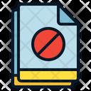 Multiple File Blocked Icon
