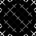 Blocked Forbidden Restriction Icon