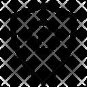 Blocked Block Shield Icon