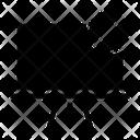 Blocked Block School Icon