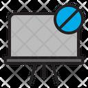 Blocked School Education Icon