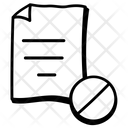Blocked File Icon