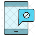 Blocked Message Message Smart Phone Icon