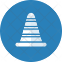 Blocker Bumper Construction Icon