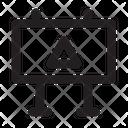 Blocker Work Building Icon