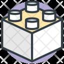 Blocks Games Construction Icon
