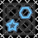Blocks Shapes Baby Icon