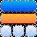 Blocks Layout Element Icon
