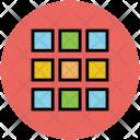 Blocks Layout Web Icon