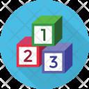 Blocks Counting Podium Icon