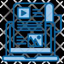 Blog Seo Web Icon