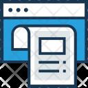 Article Script Web Icon
