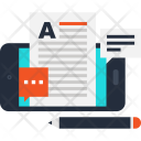 Blog Write Article Icon