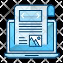 Blog Journalist News Icon