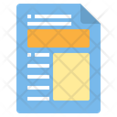 Document Blog Article Icon