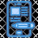 Blog Smartphone Content Icon