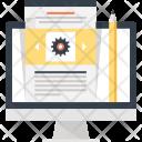 Blog Communication Computer Icon