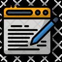 Blog Copywriting Page Icon