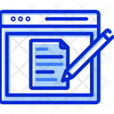 Blog Post Mail Icon