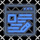 Blog Blogging Content Icon