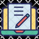 Blog Led Monitor Icon