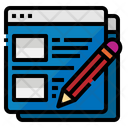 Blog Css Template Icon