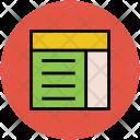 Blog Web Site Icon