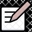 Blog Wite Pencil Icon