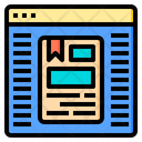 Blog Document Email Icon