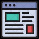 Blog Article Blogging Icon