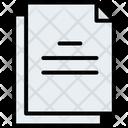 Blog Document Duplicate Icon