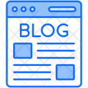 Blog Content Article Icon