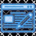 Blog Blogger News Icon
