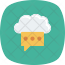 Blog Chat Clouding Icon