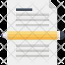 Blog Copywriting Document Icon