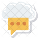 Blog Chat Cloud Icon